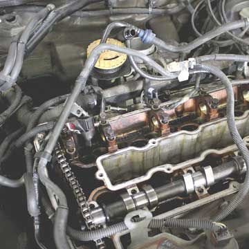 used car engine inspection