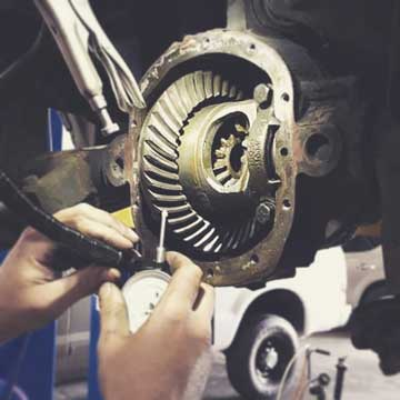 ASE Certified Mechanic Differential